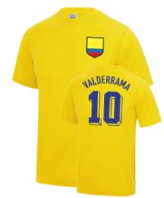 Carlos Valderrama Colombia World Cup Football T Shirt
